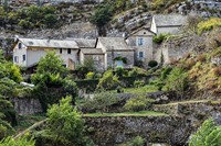 village cevennes france europe